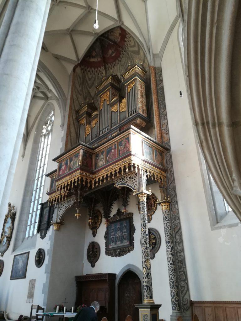 教会のオルガン