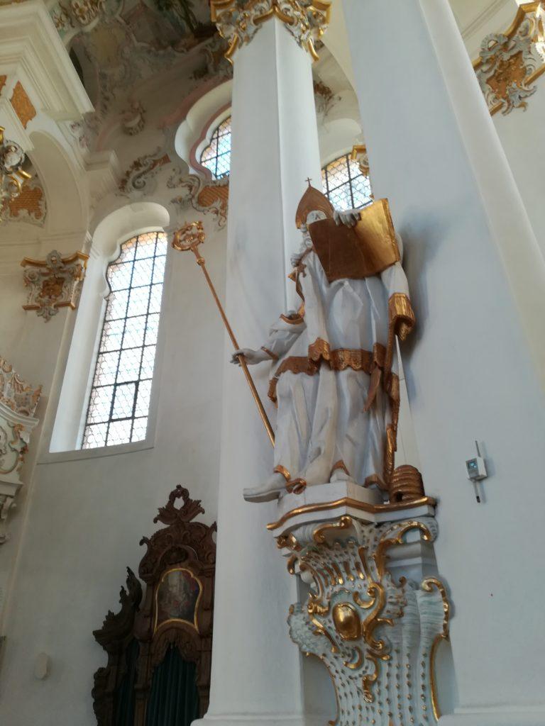 聖アウグスティヌス像